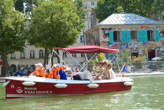 Location bateau insolite Paris