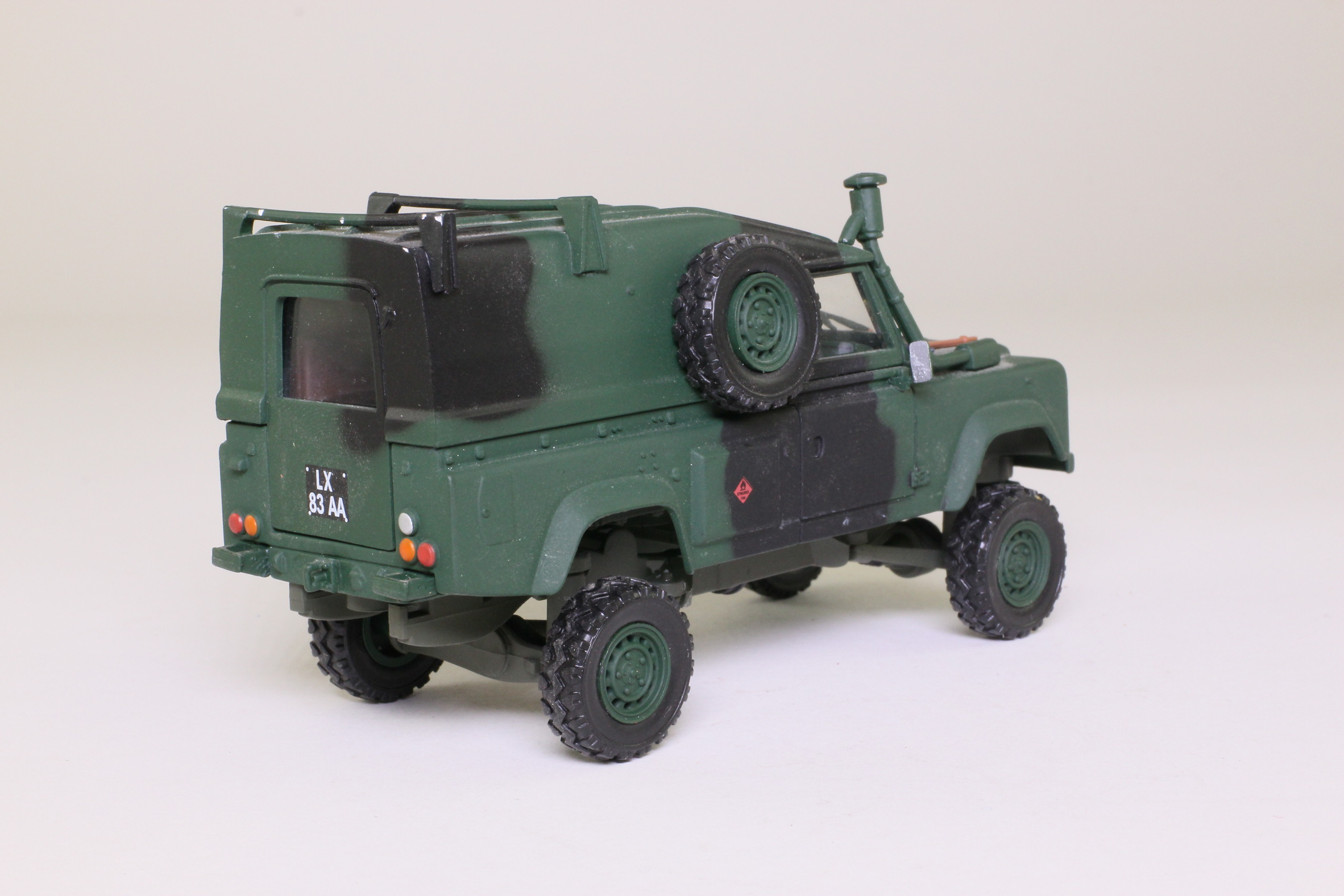 Edison Giocattoli Land Rover Wolf British Army Very Good Unboxed