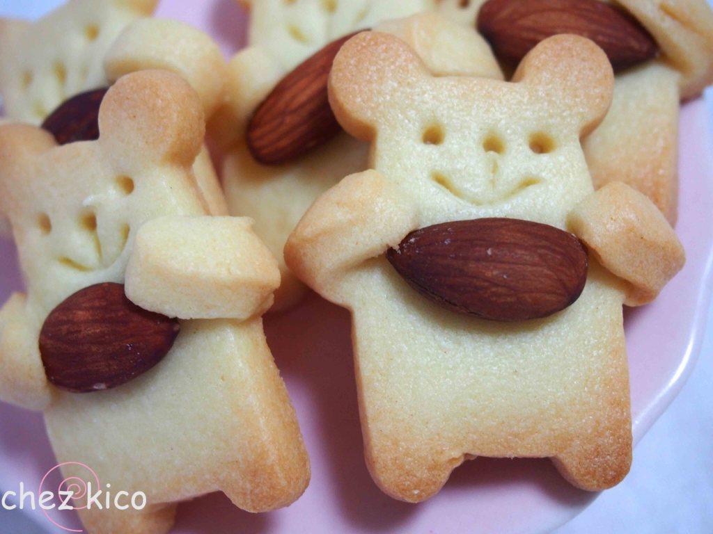 抱っこくまのクッキーの作り方