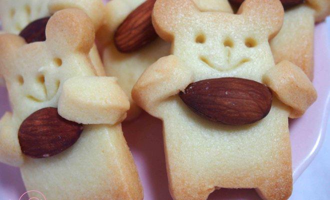 抱っこくまのクッキー