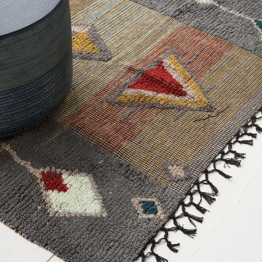 tapis a motifs navajo