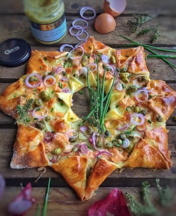 Pizza étoile