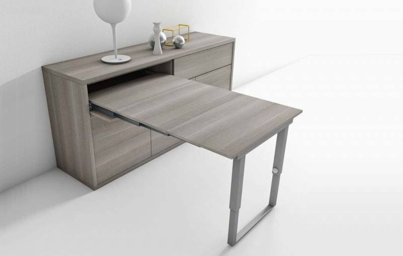table murale extractible bandol pour