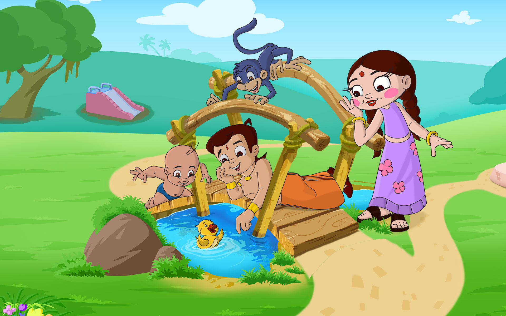 Chhota Bheem Hd Wallpapers Background Images Free Downloads