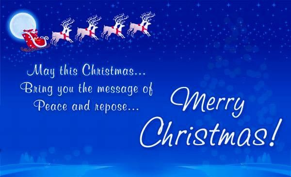 Advance Merry Christmas Wishes