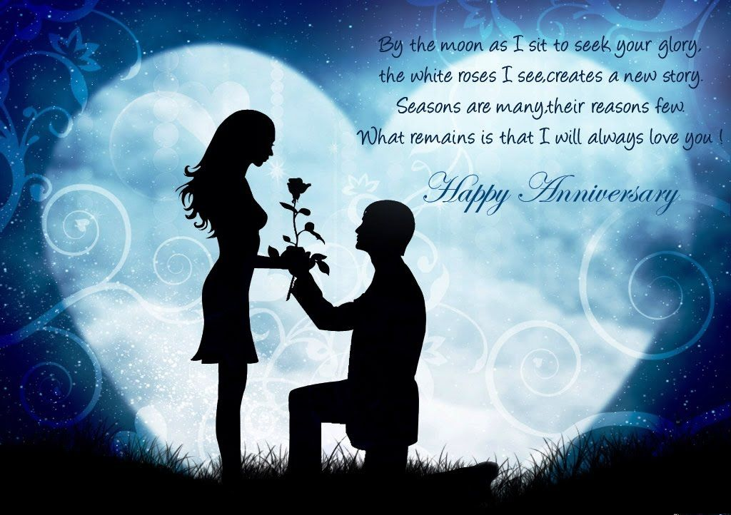 Anniversary Quotes For Girlfriend Amazing 48 Romantic Anniversary Wishes For WifeGF SMS Quotes Status
