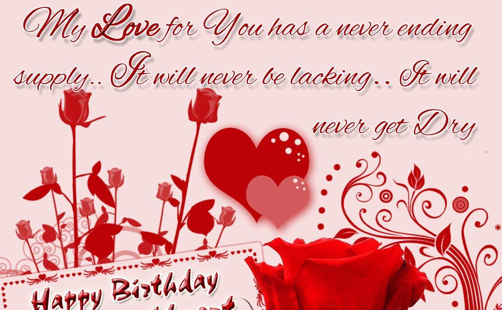 Advance happy birthday wishes for lover hindi
