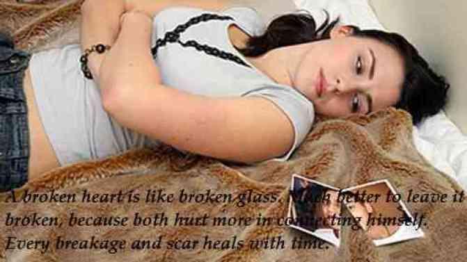 broken heart messages