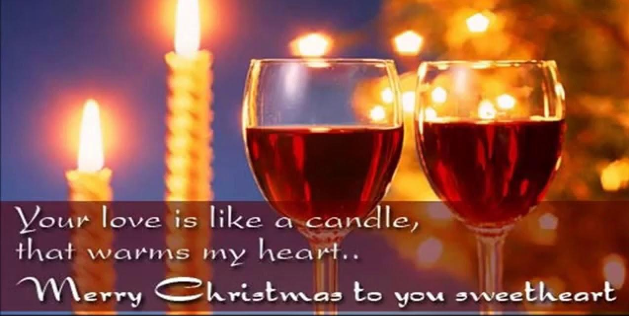 romantic christmas wishes for lovers
