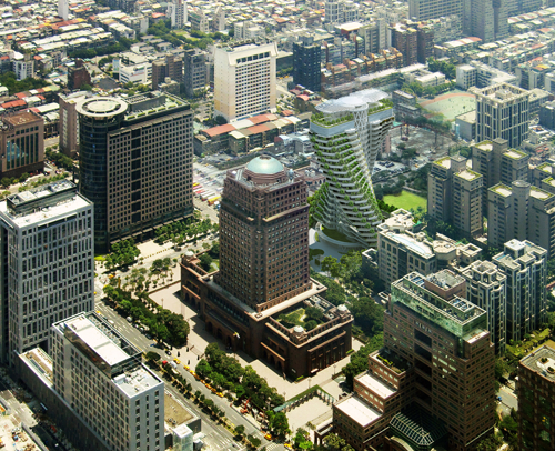 The Chicago Athenaeum  TAO ZHU YIN YUAN  Taipei Taiwan  Architects Vincent Callebaut