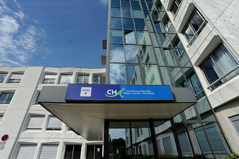 Lhpital pratique  se reprer et se garer  CHI Elbeuf Louviers Val de Reuil