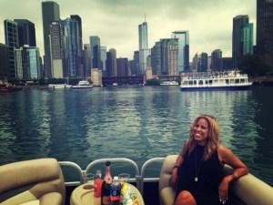 Vantage boat cruise