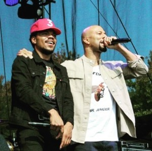 Chance the Rapper and Common