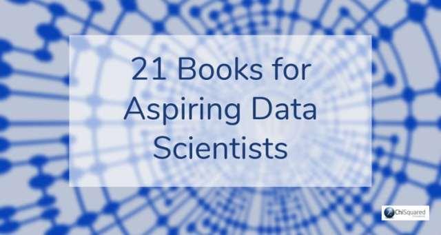 21 books for aspiring data scientists