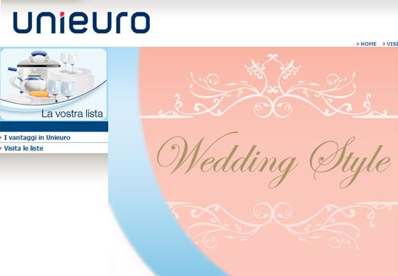 La Lista Nozze Protagonisti I Futuri Sposi : Futuri sposi lista nozze unieuro chiacchieretradonne