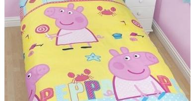Regalo di compleanno bambina completo letto peppa pig