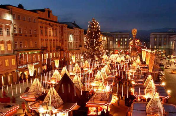 Vienna mercatino natalizio