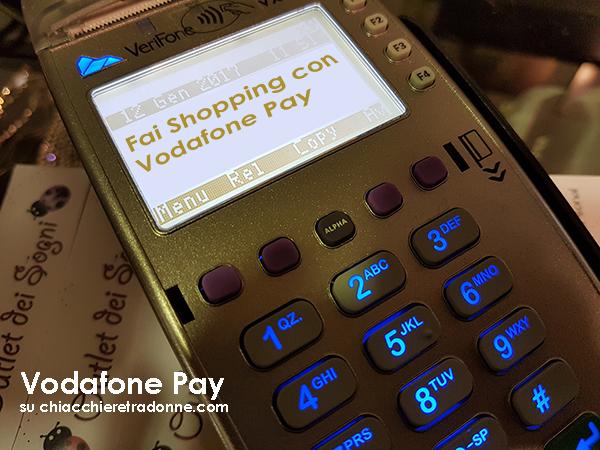 Shopping con Vodafone Pay