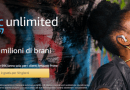 Musica, GRATIS su Amazon Music Unlimited per un mese
