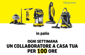 Kärcher Home Cleaning si fa in Cinque: Vinci Collaborazioni Domestiche