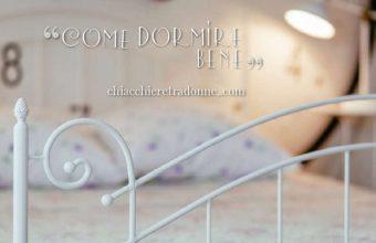 Il materasso dei sogni per dormire bene e alzarsi riposati