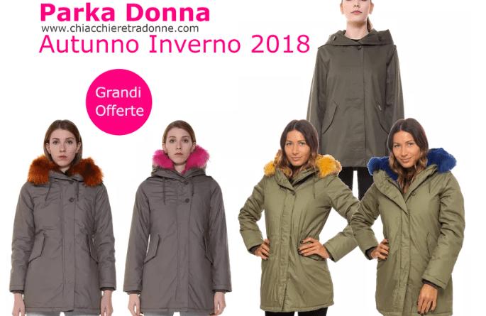 parka donna woolrich canadina