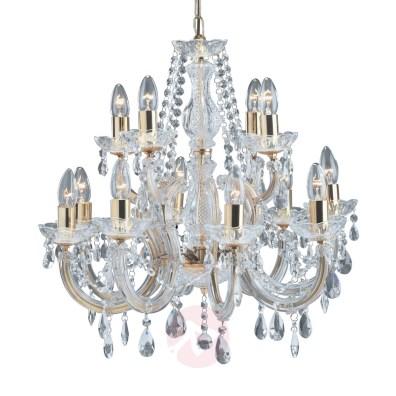 lampadari in ottone