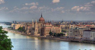 Budapest Parlamento vacanze di pasqua