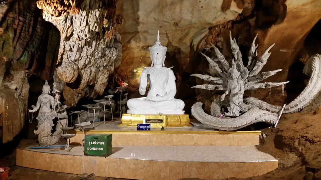 Naga sirens within the chiang dao cave