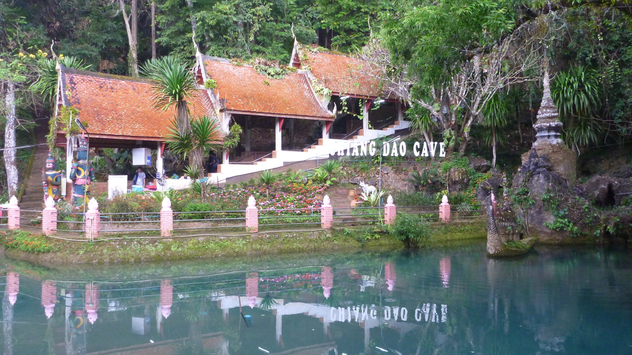 Chiang Dao Cave Entrance