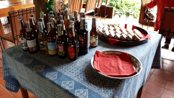 Chiang Dao Nest Restaurant - Beer Selection