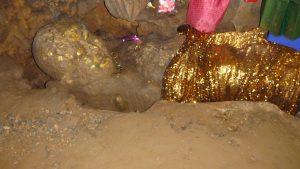 Sleeping buddha in chiang dao cave