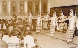 Traditional dance performance