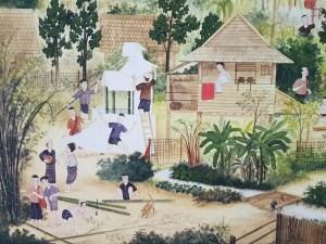 Scenes of village life