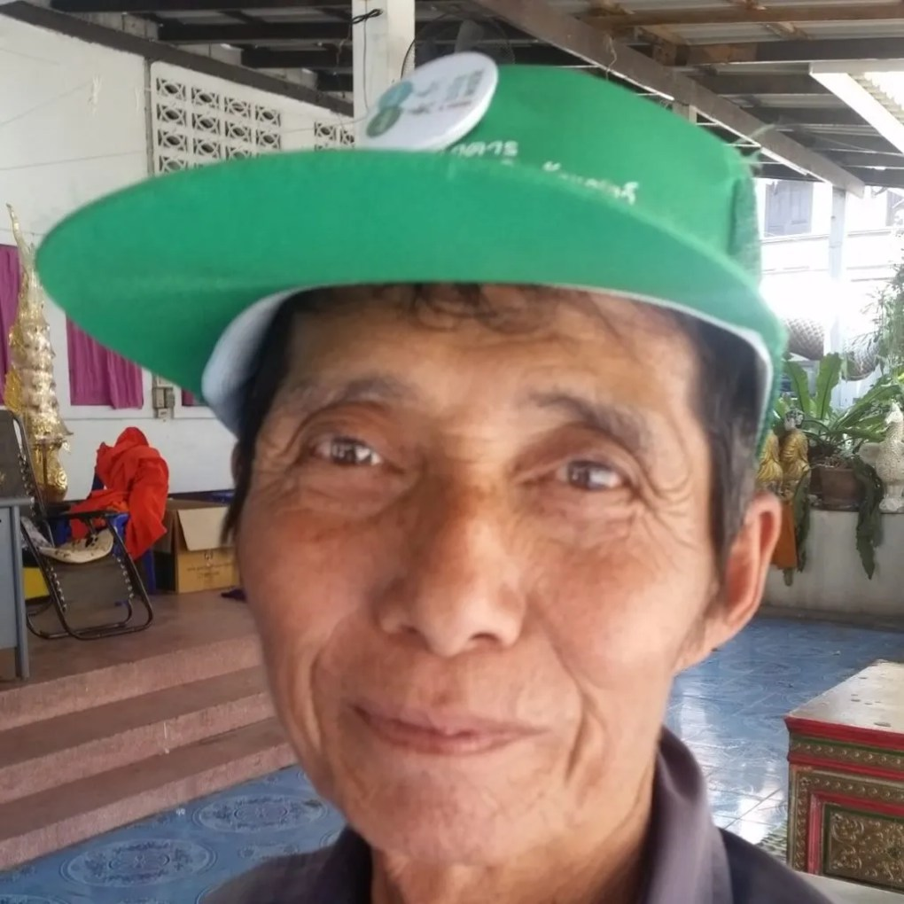 Old man with a cap