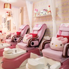 Hello Kitty Spa Pedicure Chair Small Chaise Lounge Chiang Mai Citylife Pretty Little Digits