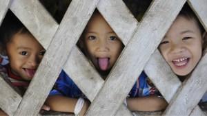 Children from Karen tribe