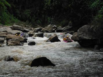 Some nice rapids on the way