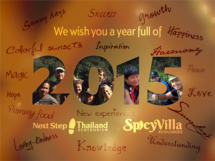 Happy New Year from Spicy Villa crew!