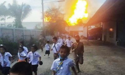 เสียชีวิต 3 บาดเจ็บ 52 คนเหตุท่อก๊าซบึ้ม