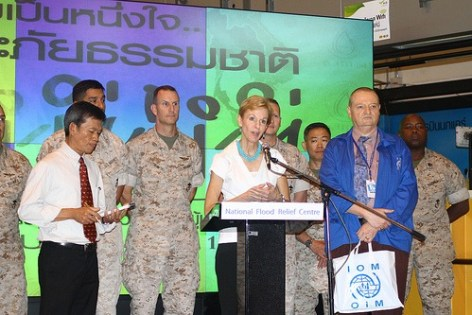 US Ambassador Confident Thailand will Bounce Back From Floods