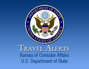 The United States has issued a Travel Alert for American Traveling to Thailand
