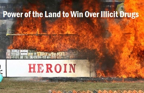 Power of the Land to Win Over Illicit Drugs