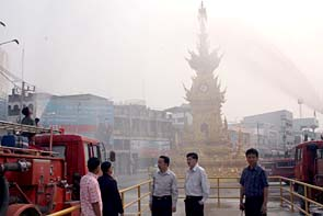 Chiang Rai Blanketed in Smoky Haze