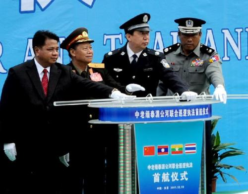 Joint Mekong Patrol has Arrested 812 Drug Crime Suspects in 2 Months