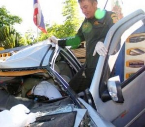 Paul Otto Norbert Richter, age 70, has died as result of a two-vehicle car accident today on Bangkapi Road