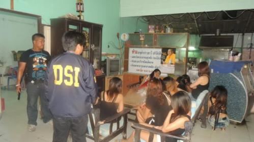 aged between 17-year-old to 20-year-old, were smuggled across borders in Ubonratchatani and Nong Khai provinces. They were paid only a small percentage of the money they earned for having sex with customers, while the restaurant owner pocketed the rest.