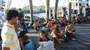 20 Burmese migrants were rescued from traffickers.