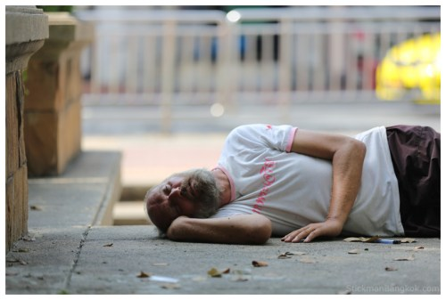 The issue of homelessness gained attention in Pattaya last year, when the government began to crack down on growing numbers of both local and foreign homeless there