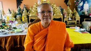 Dhammananda is the first Thai woman to fully ordain in the Theravada monastic lineage